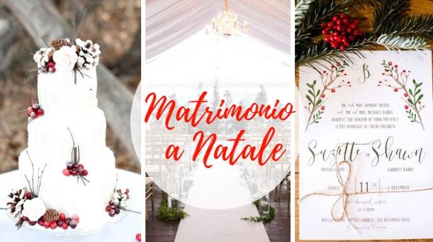 Matrimonio a Natale: spunti e ispirazioni
